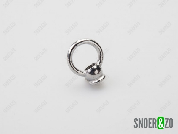 Ringnippel chroom 30mm