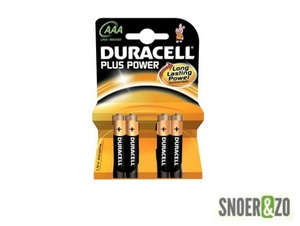 Duracell plus power batterij type AAA (potlood)