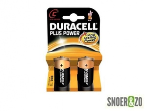 Duracell plus power batterij type C (baby)